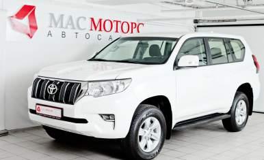 Toyota Land Cruiser Prado Белый